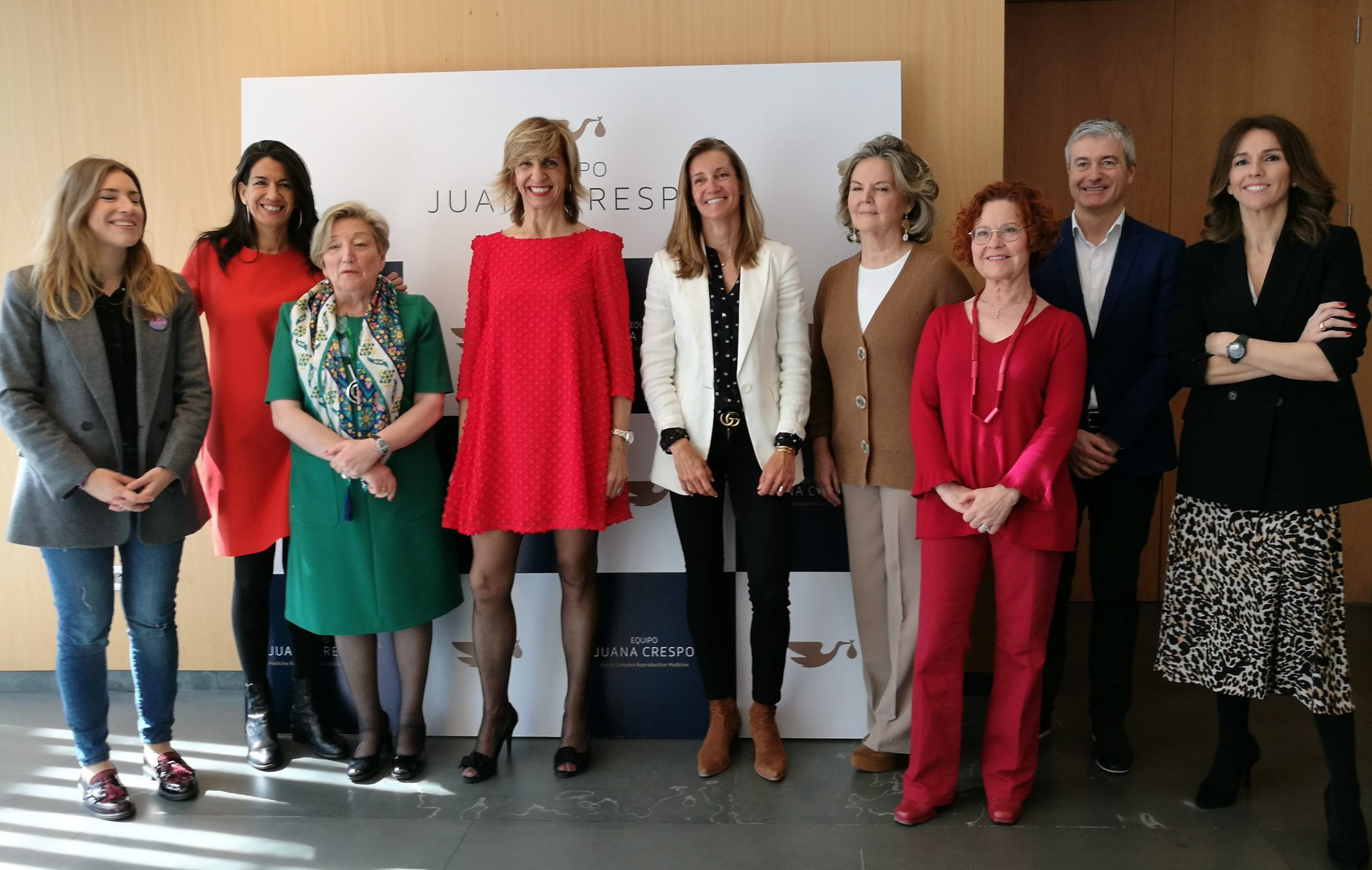 Invitadas a la mesa redonda celebrada en Equipo Juana Crespo por el Día Internacional de la Mujer